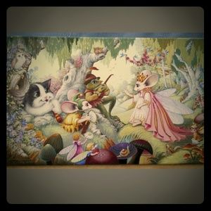 Rip Squeak Authenticated Gliceé Canvas Painting